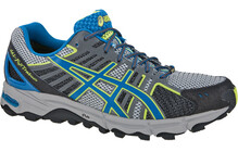 Asics Men's Gel Fujitrabuco Neutral G-TX black/blue/flash yellow